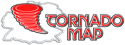 Tornado Map Logo